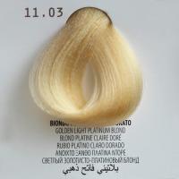 11.03 biondo platino chiaro dorato