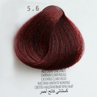 5.6 castano chiaro rosso