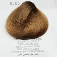 8.03 biondo chiaro naturale dorato